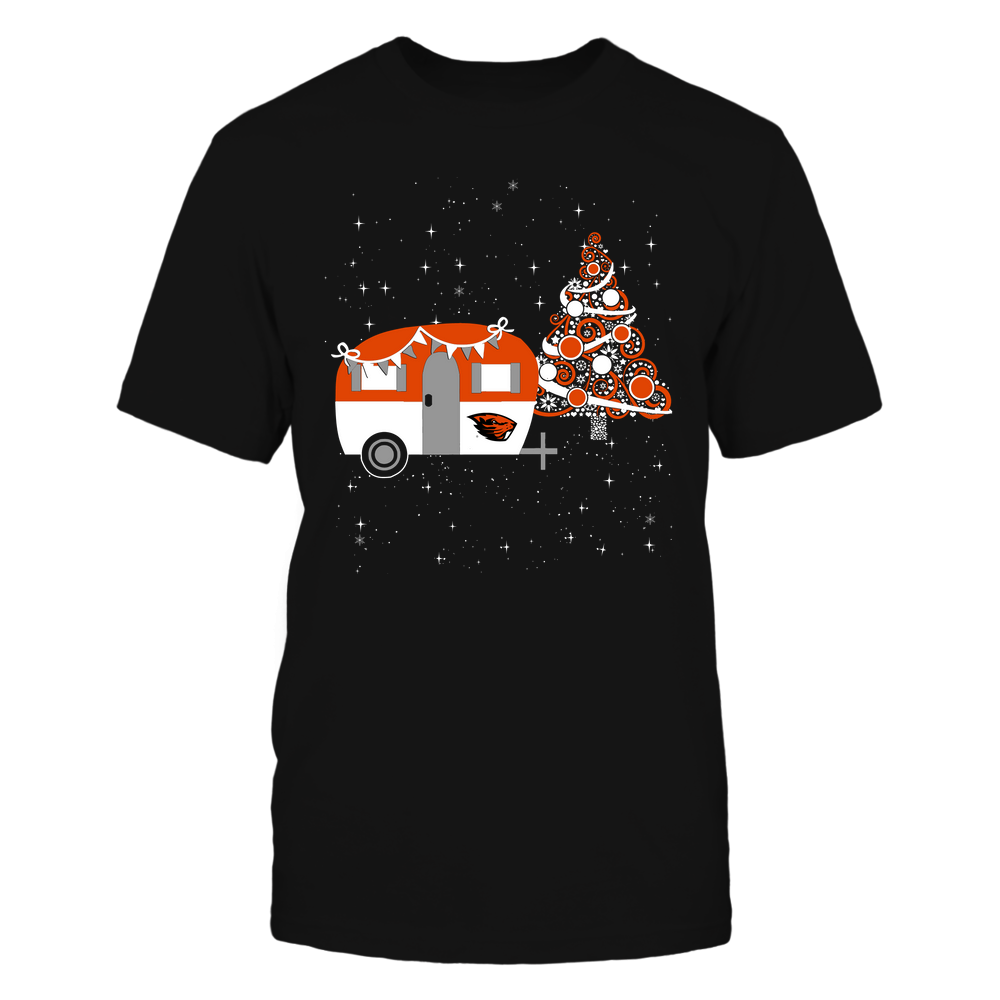Oregon State Beavers - Christmas - Camping - Christmas Tree Front picture