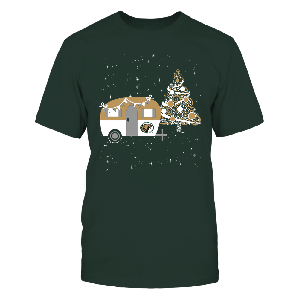 Bemidji State Beavers - Christmas - Camping - Christmas Tree Front picture