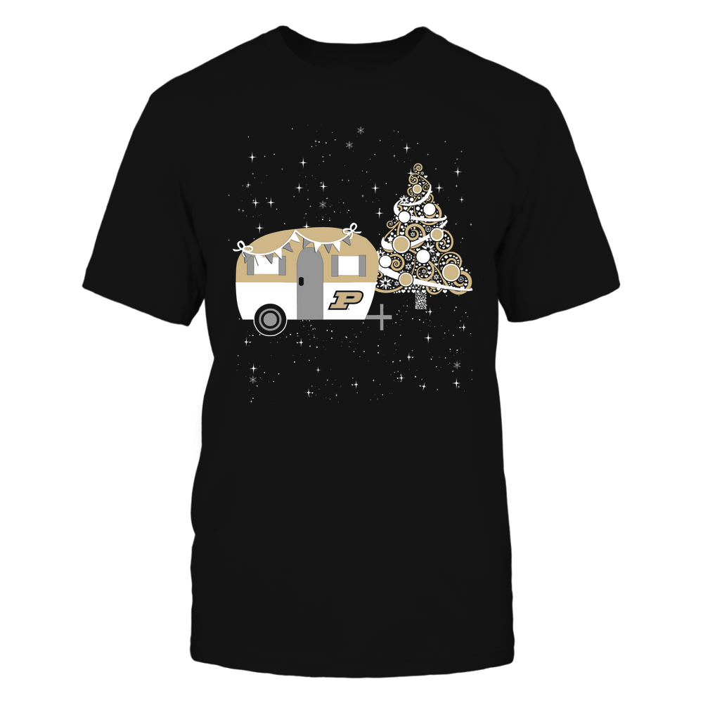 Purdue Boilermakers - Christmas - Camping - Christmas Tree Front picture