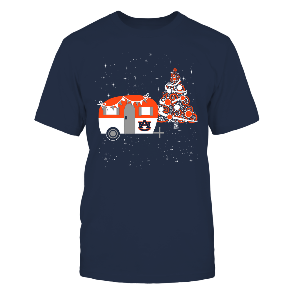 Auburn Tigers - Christmas - Camping - Christmas Tree Front picture