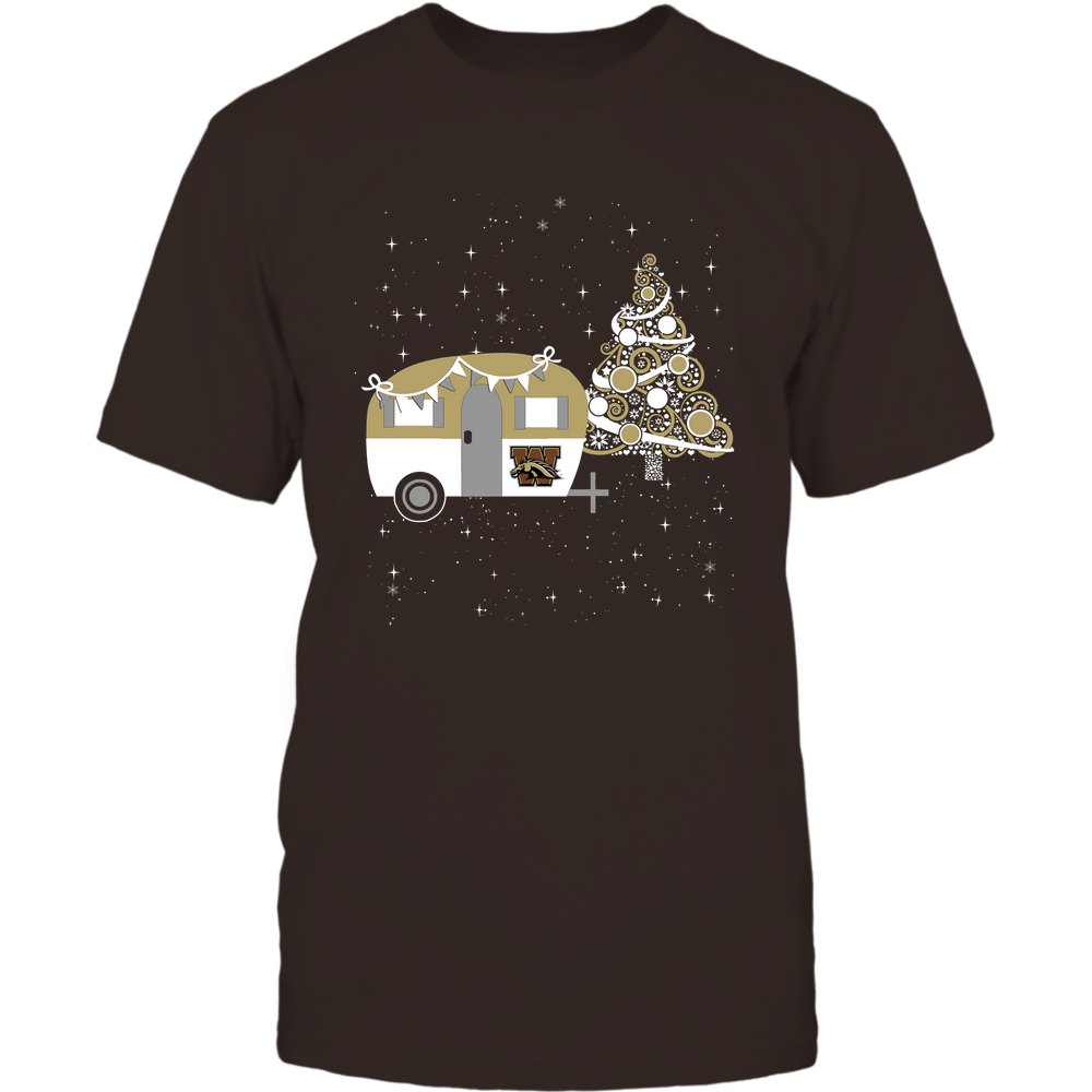 Western Michigan Broncos - Christmas - Camping - Christmas Tree Front picture