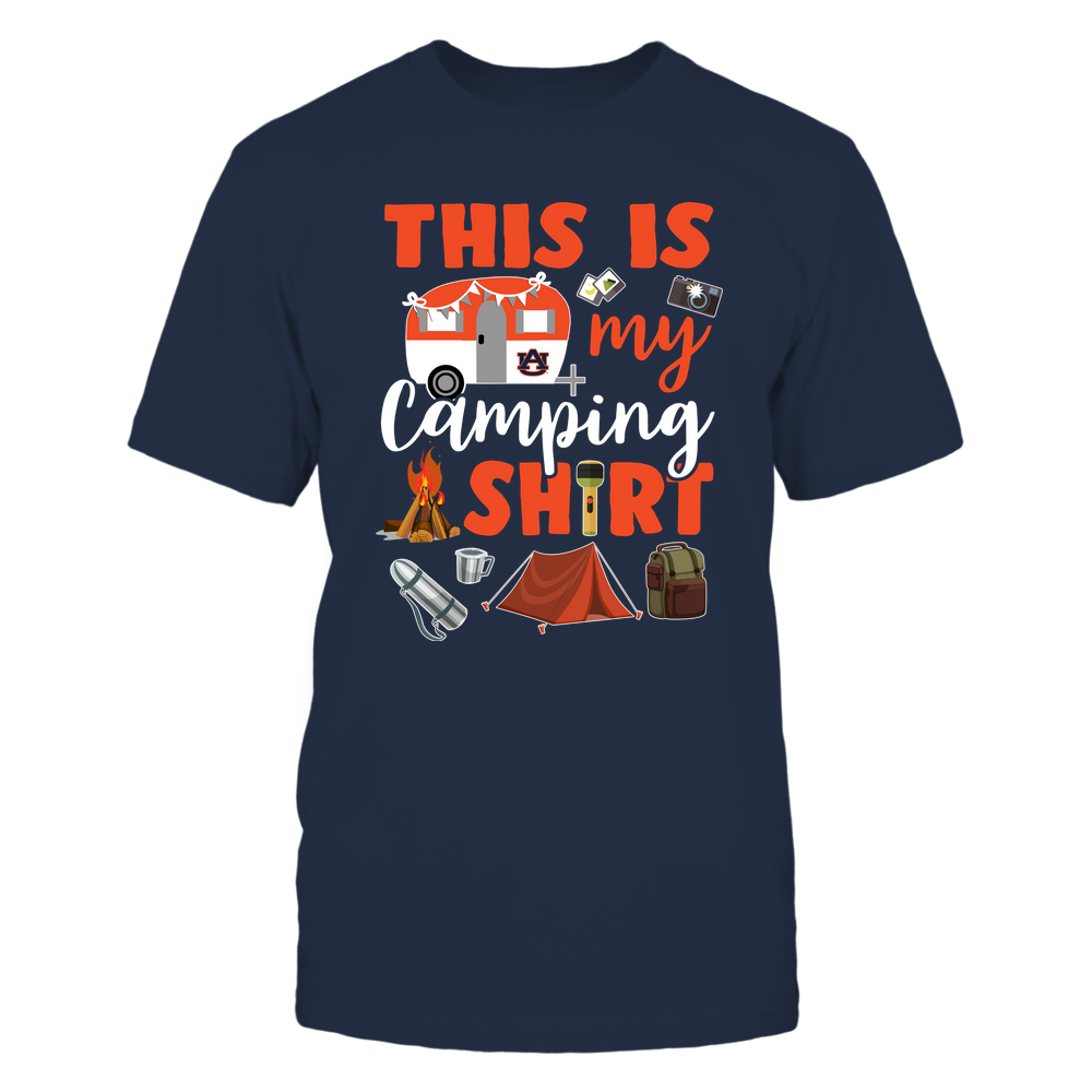 Auburn Tigers - Camping - This Is My Camping Shirt - IF82-IC82-DS45 Front picture