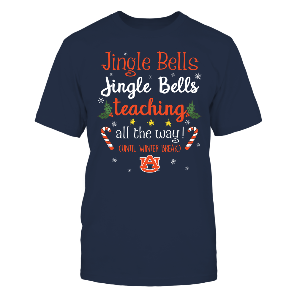 Auburn Tigers - Xmas - Teacher Jingle Bells - IF13-IC13-DS37 Front picture