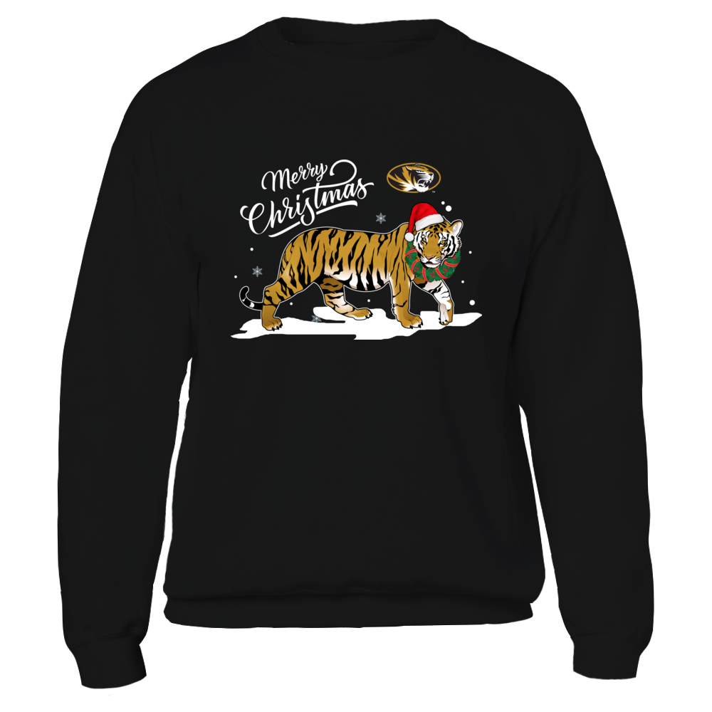 Mizzou Tigers - Merry Christmas - Mascot - Tiger Front picture