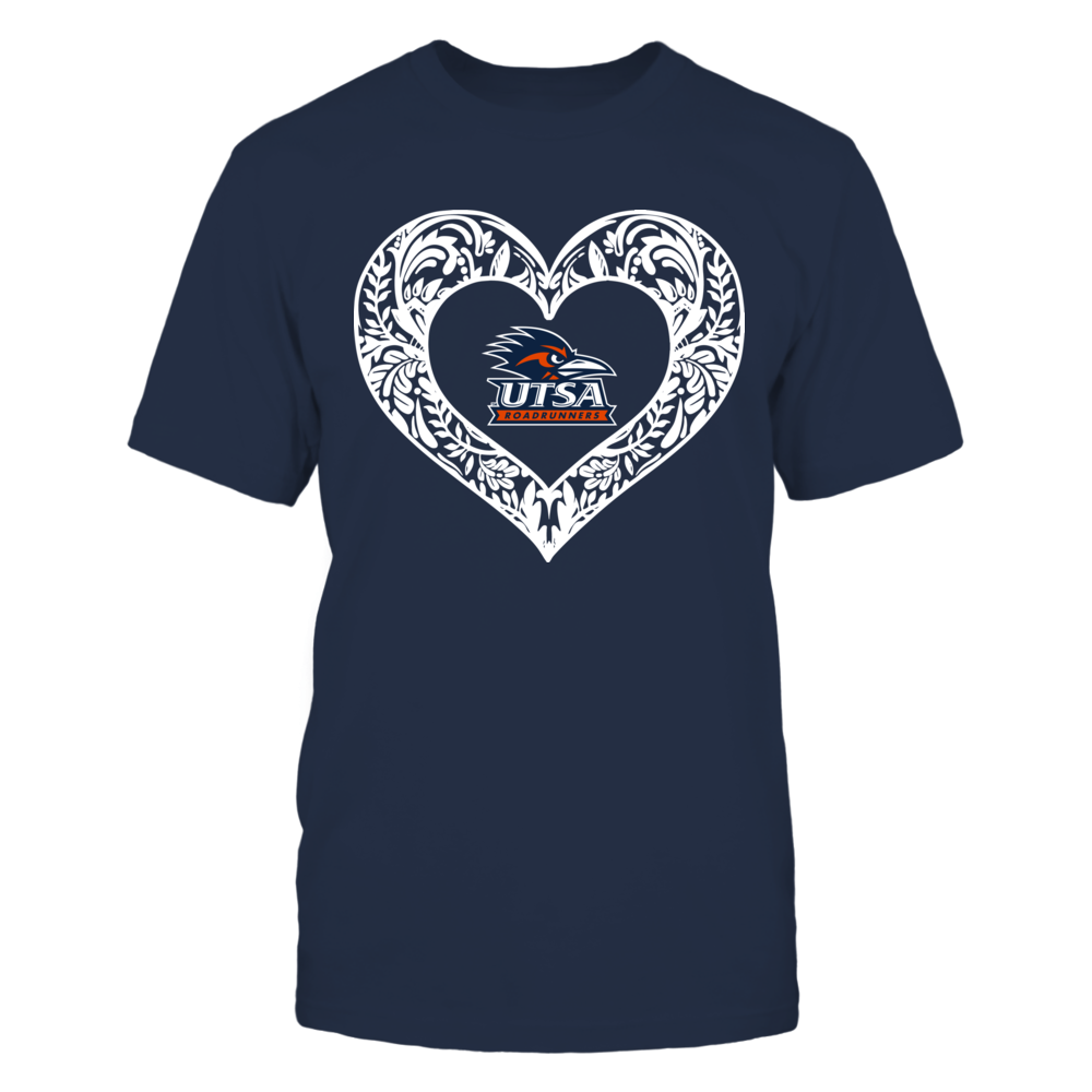 Pattern Heart - UTSA Roadrunners Front picture