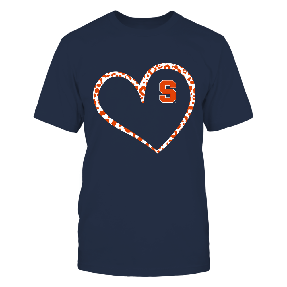 Syracuse Orange - Leopard Pattern Heart - Team Front picture