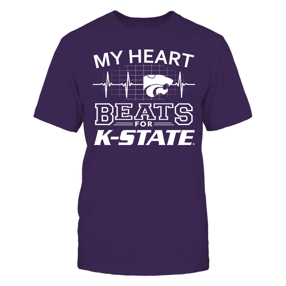 My Heart Beats for Kansas State Wildcats Front picture