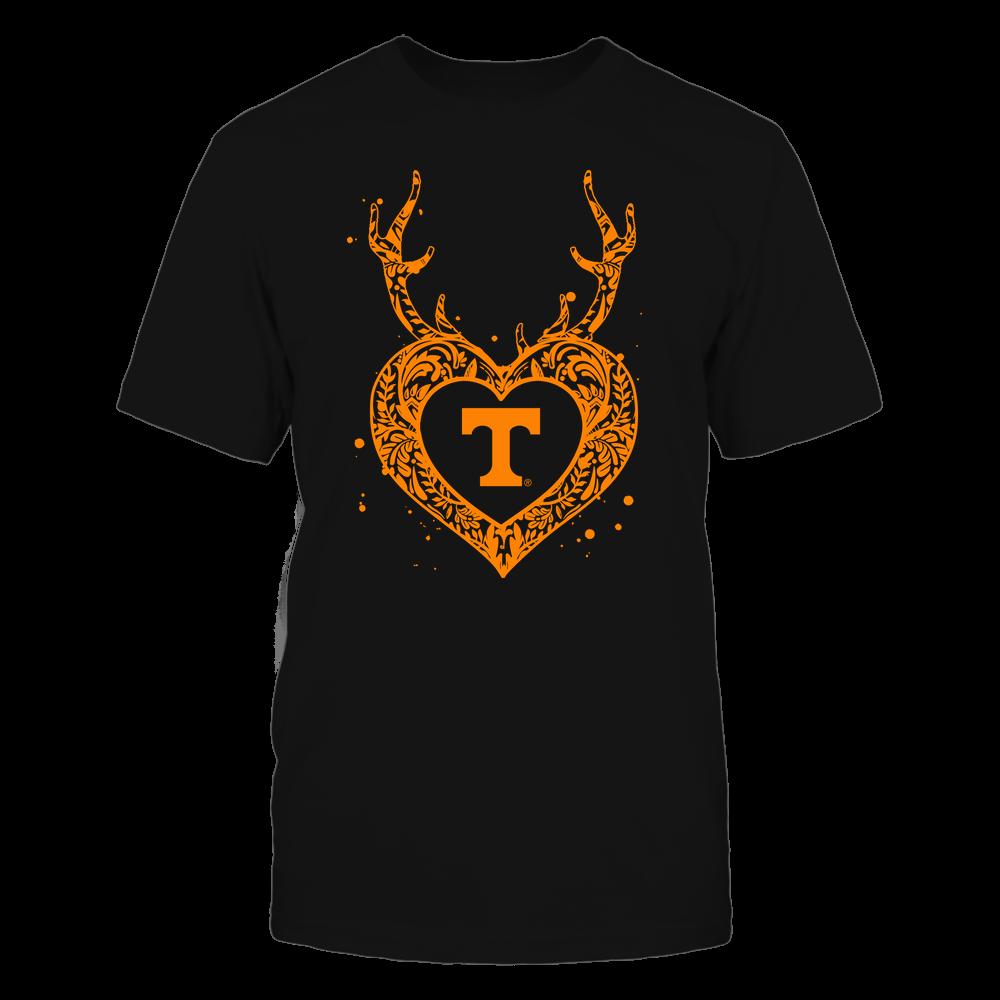Tennessee Volunteers - Deer Pattern Heart - Team Front picture