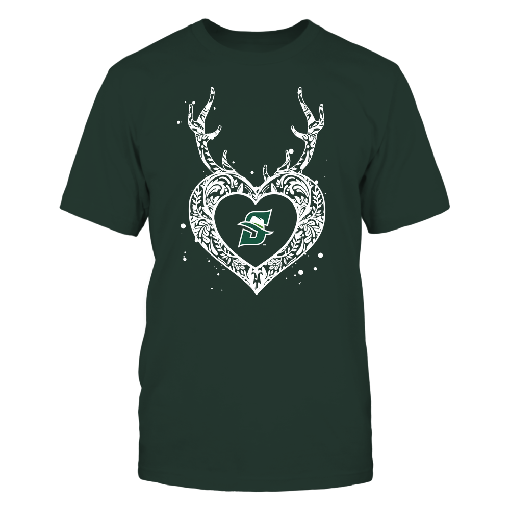 Stetson Hatters - Deer Pattern Heart - Team Front picture