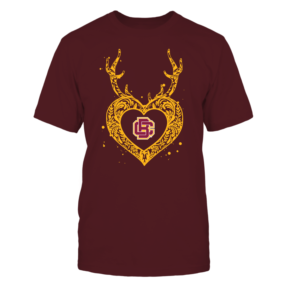 Bethune-Cookman Wildcats - Deer Pattern Heart - Team Front picture