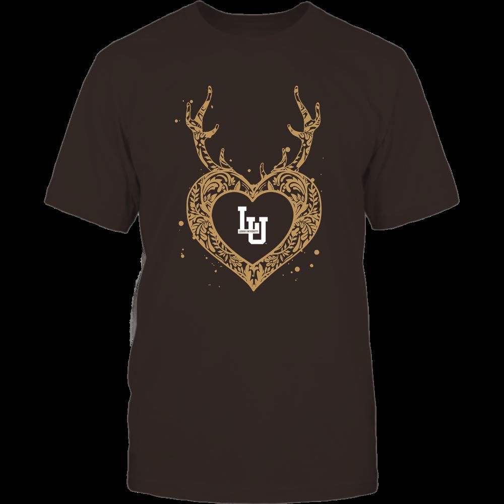 Lehigh Mountain Hawks - Deer Pattern Heart - Team Front picture