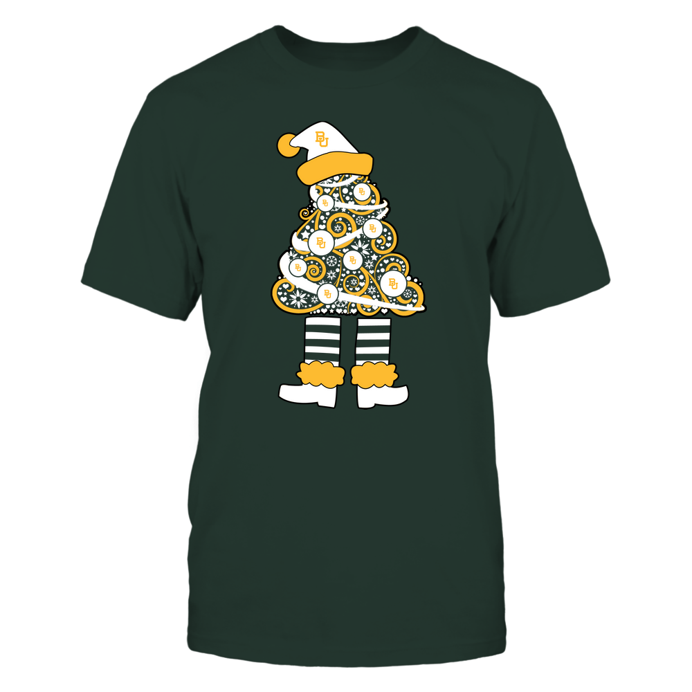 Baylor Bears - 19111110070 - Xmas - Christmas Tree Elf - APCX - IF32-IC32-DS37 Front picture