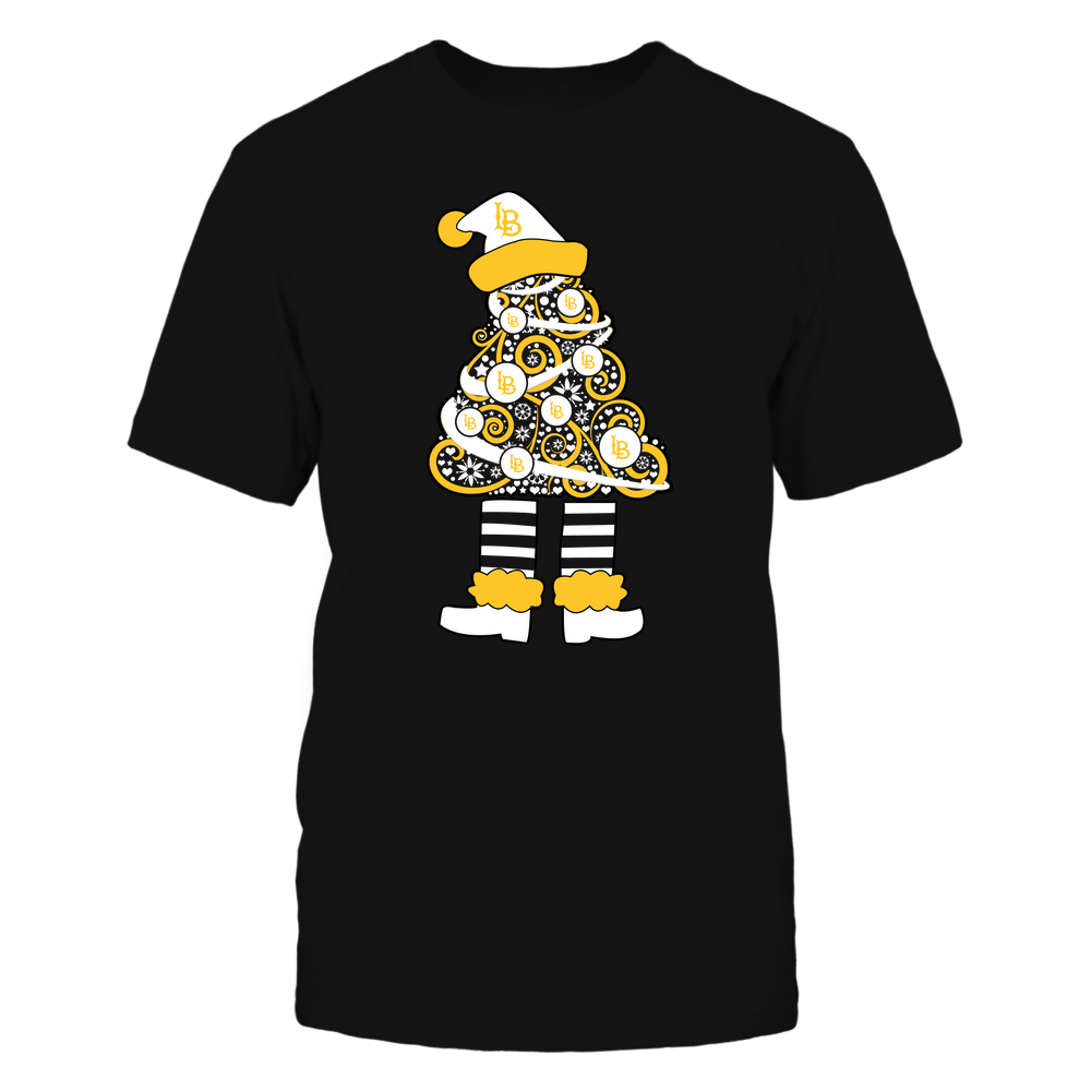 Long Beach State 49ers - 19111110070 - Xmas - Christmas Tree Elf - APCX - IF32-IC32-DS37 Front picture