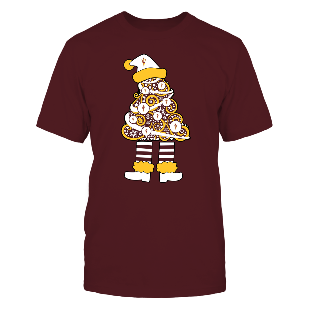 Arizona State Sun Devils - 19111110070 - Xmas - Christmas Tree Elf - APCX - IF32-IC32-DS37 Front picture