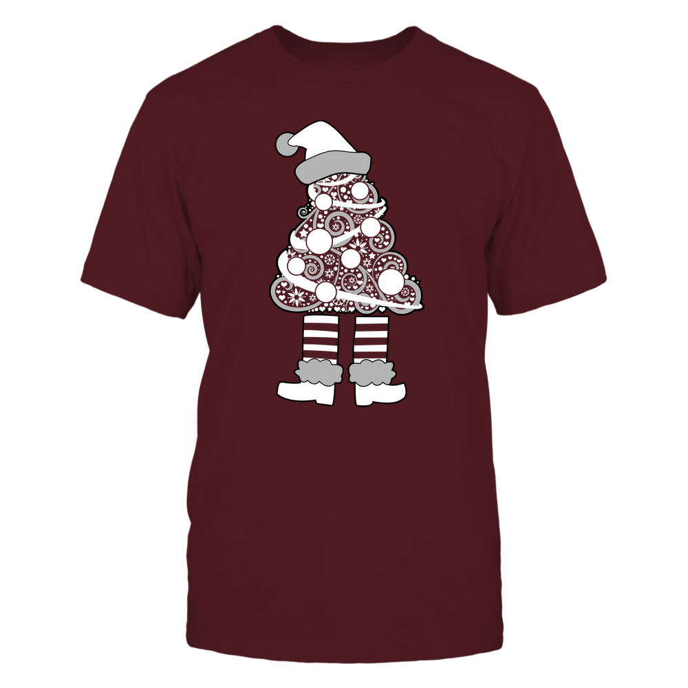 Montana Grizzlies - 19111110070 - Xmas - Christmas Tree Elf - APCX - IF32-IC32-DS37 Front picture