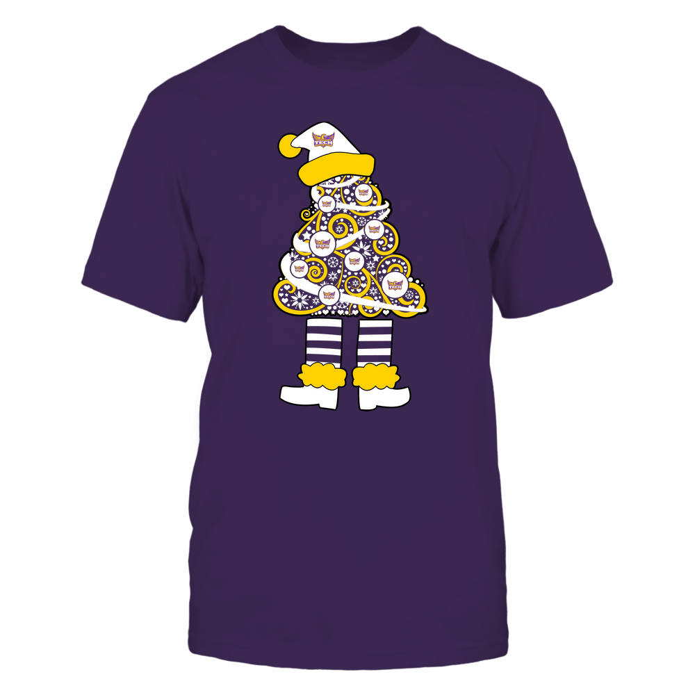 Tennessee Tech Golden Eagles - 19111110070 - Xmas - Christmas Tree Elf - APCX - IF32-IC32-DS37 Front picture