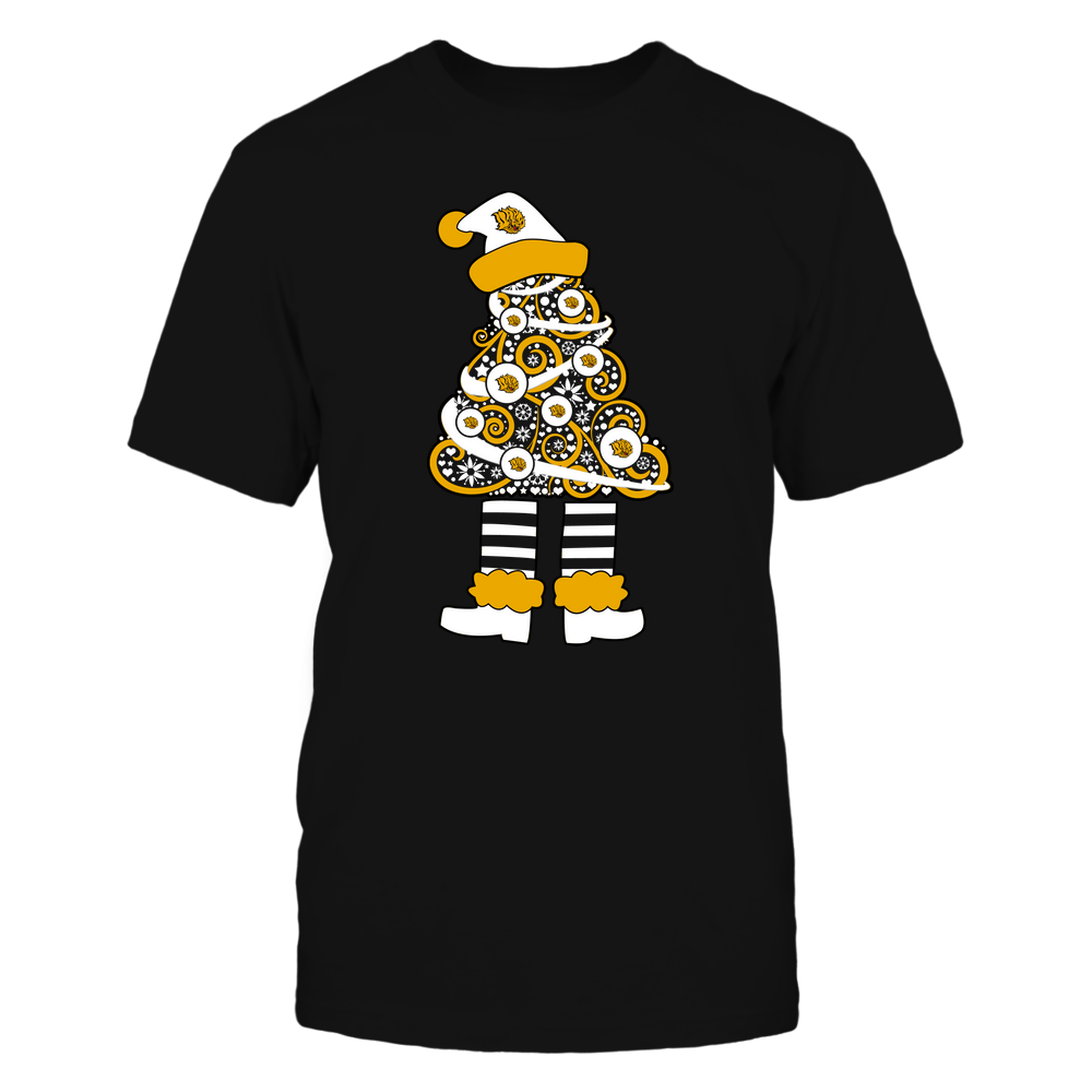 Arkansas Pine Bluff Golden Lions - 19111110070 - Xmas - Christmas Tree Elf - APCX - IF32-IC32-DS37 Front picture
