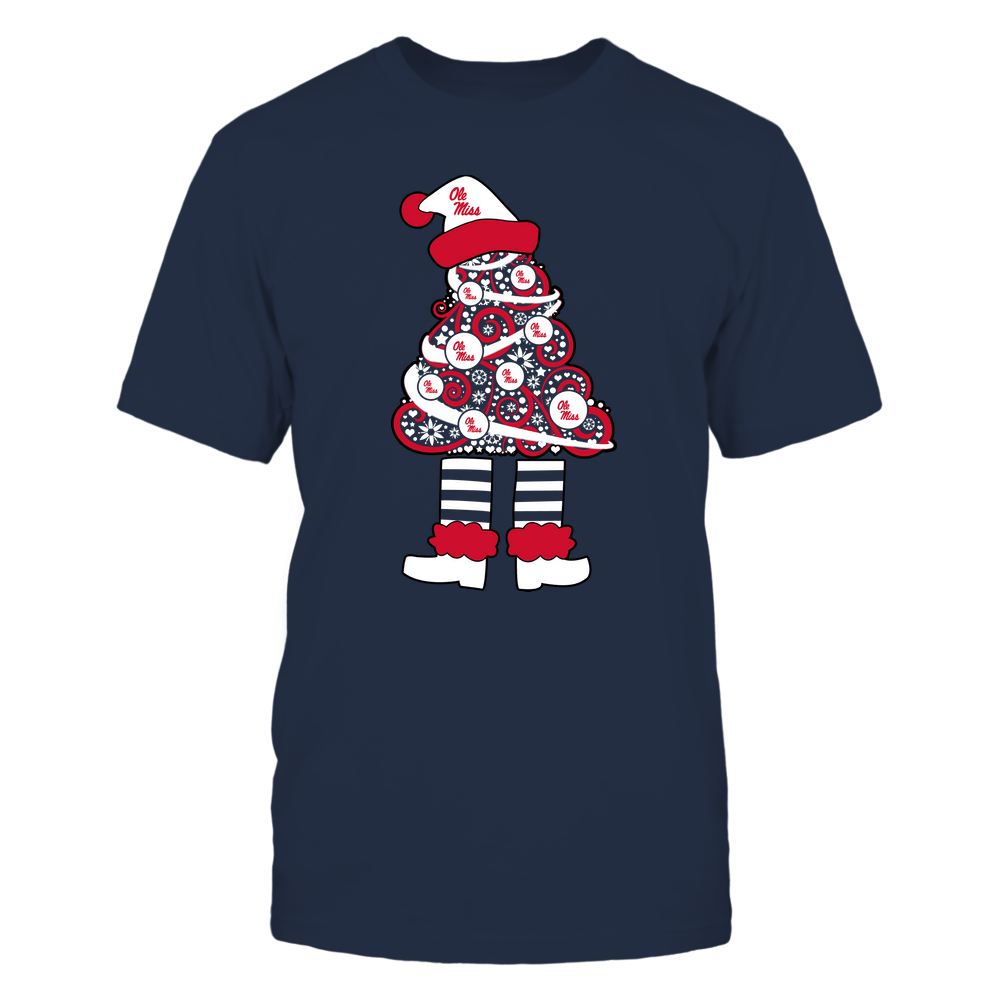 Ole Miss Rebels - 19111110070 - Xmas - Christmas Tree Elf - APCX - IF32-IC32-DS37 Front picture