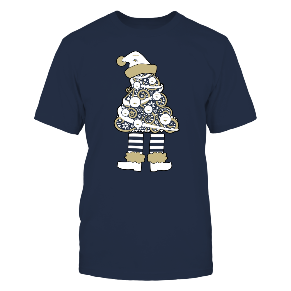 Oral Roberts Golden Eagles - 19111110070 - Xmas - Christmas Tree Elf - APCX - IF32-IC32-DS37 Front picture