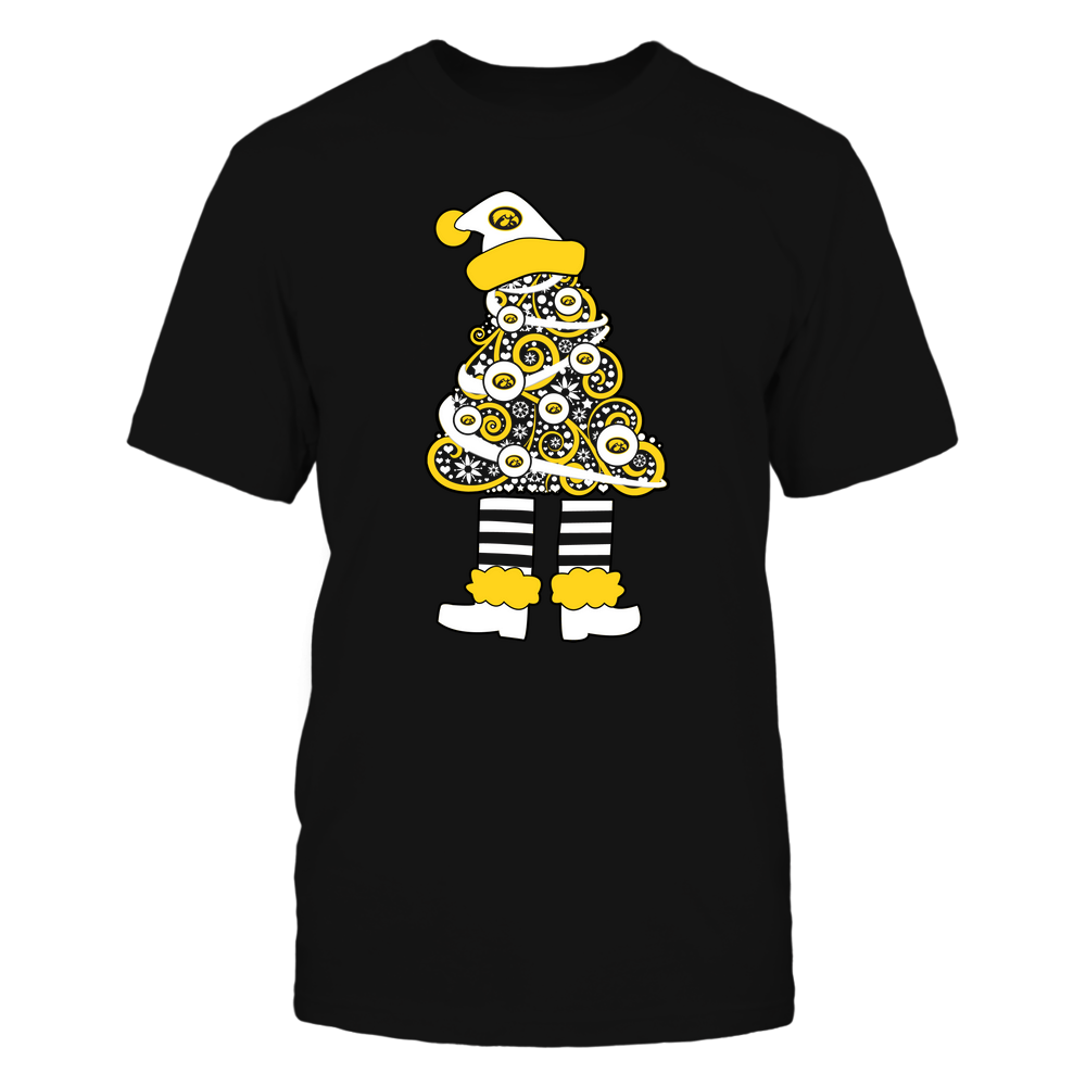 Iowa Hawkeyes - 19111110070 - Xmas - Christmas Tree Elf - APCX - IF32-IC32-DS37 Front picture