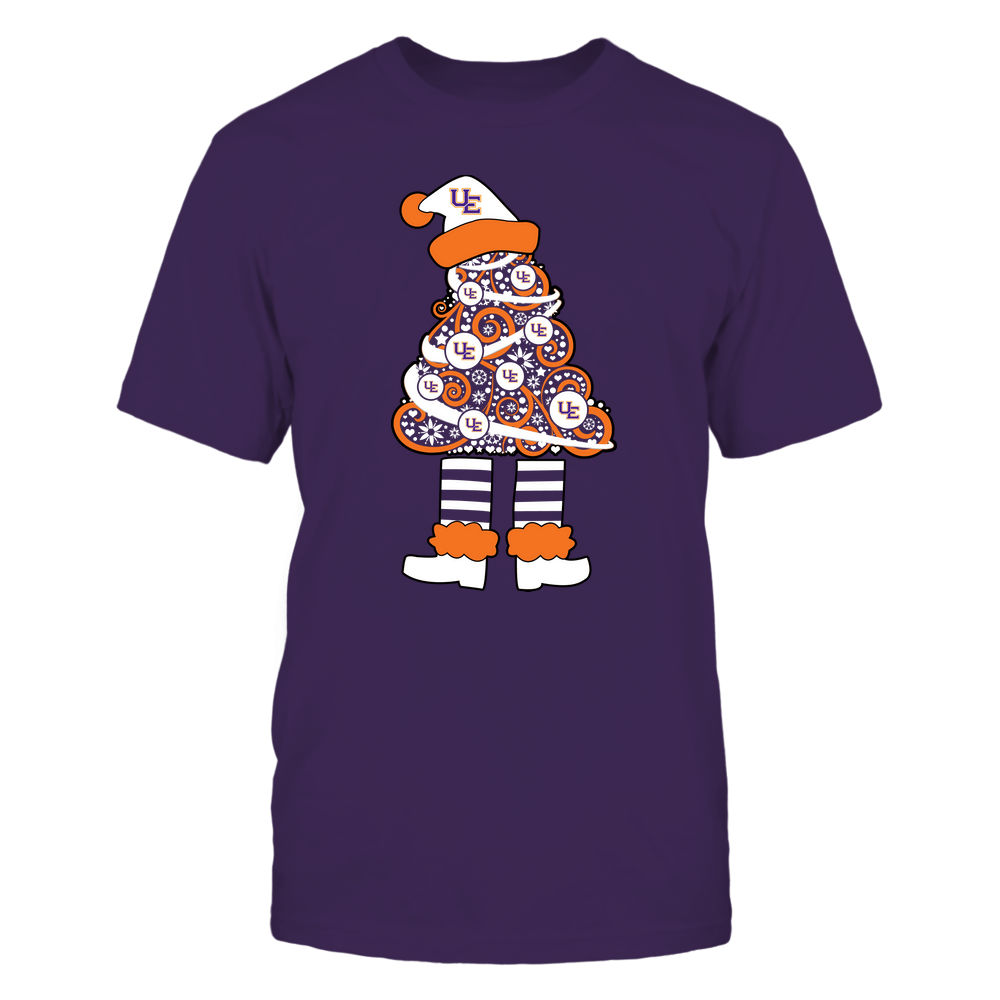 Evansville Purple Aces - 19111110070 - Xmas - Christmas Tree Elf - APCX - IF32-IC32-DS37 Front picture