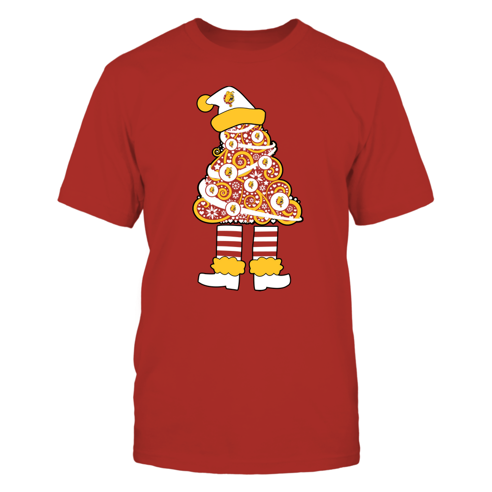 Ferris State Bulldogs - 19111110070 - Xmas - Christmas Tree Elf - APCX - IF32-IC32-DS37 Front picture