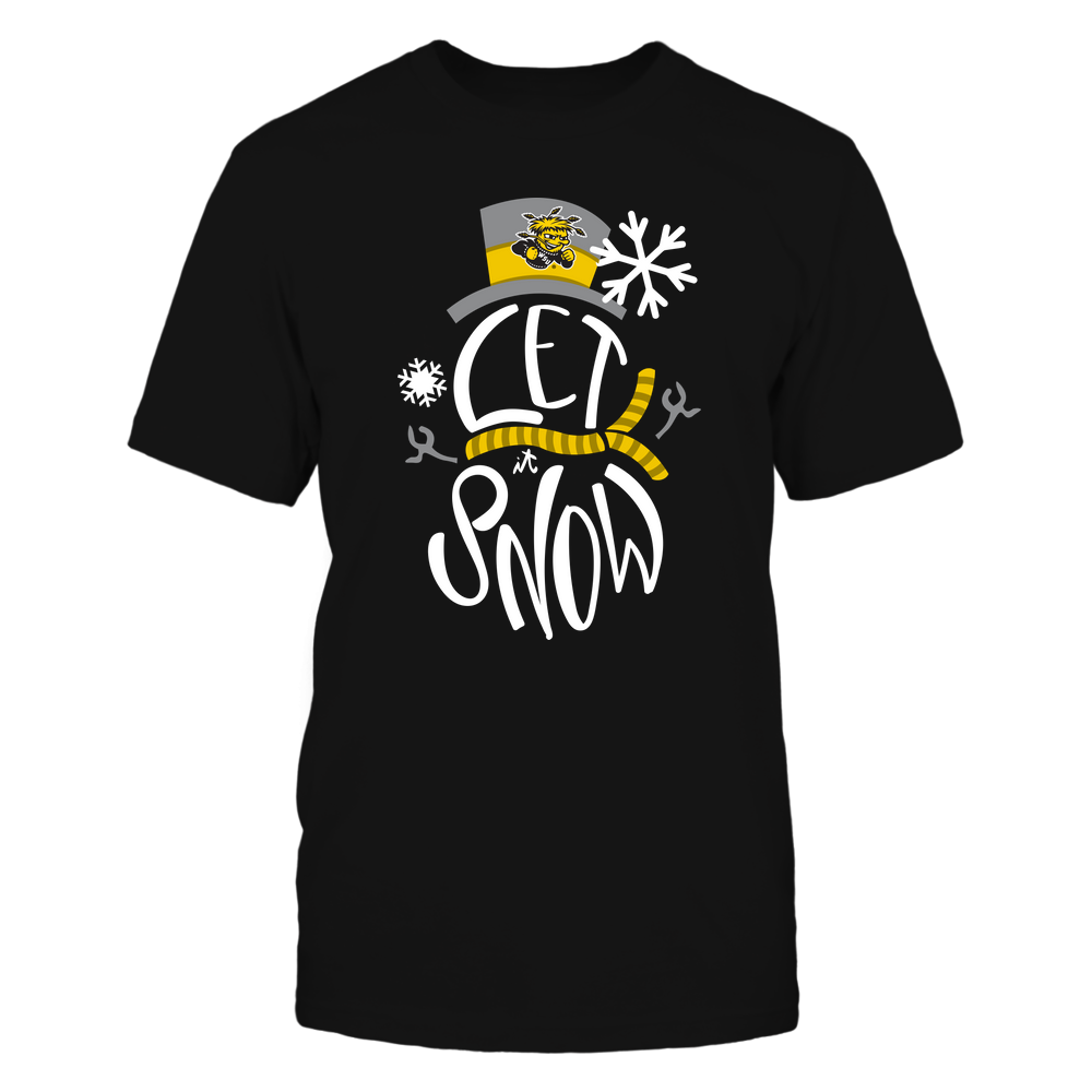 Wichita State Shockers - Xmas - Let It Snow Snowman  - IF78-IC78-DS37 Front picture