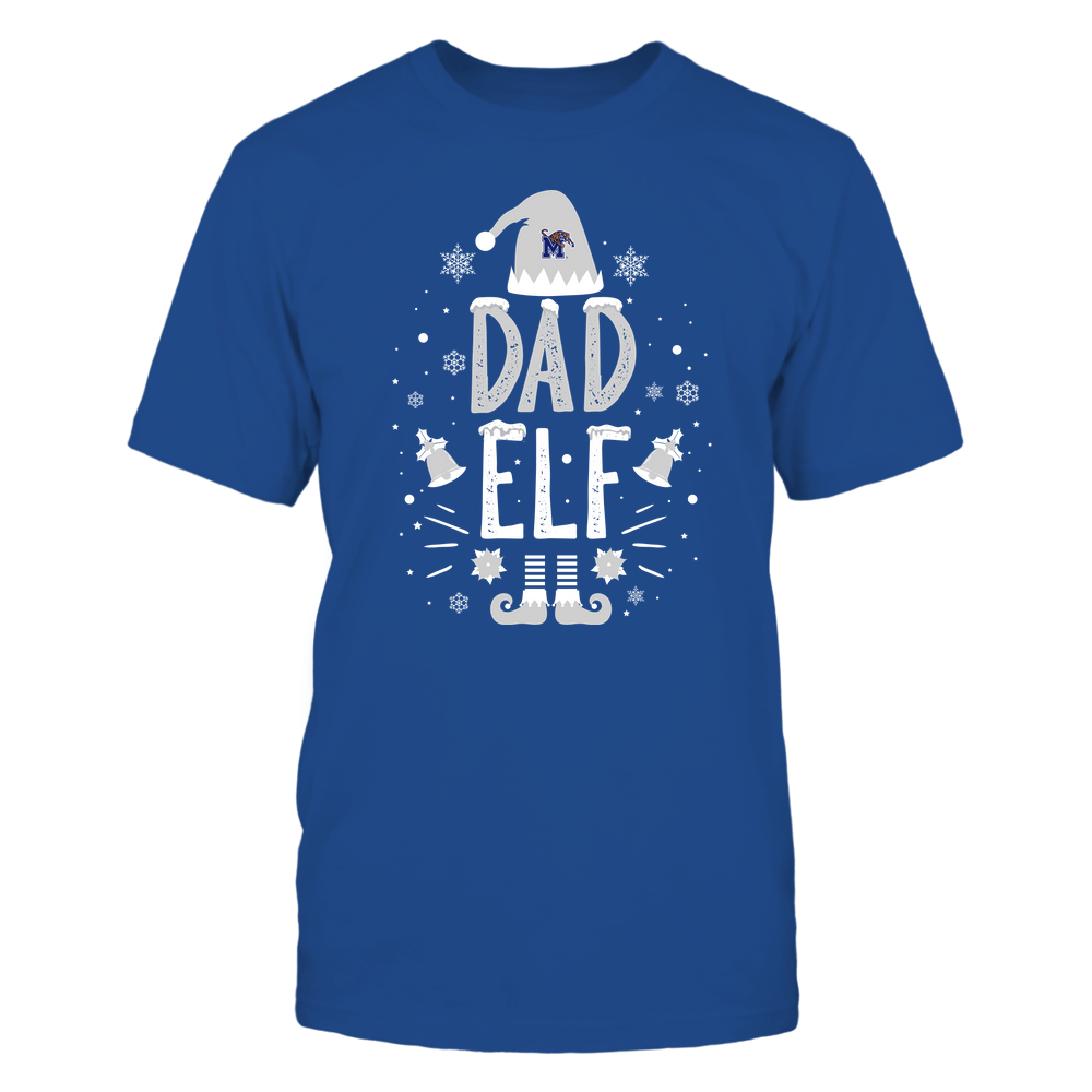 Memphis Tigers - Christmas - Dad Elf - Team Front picture
