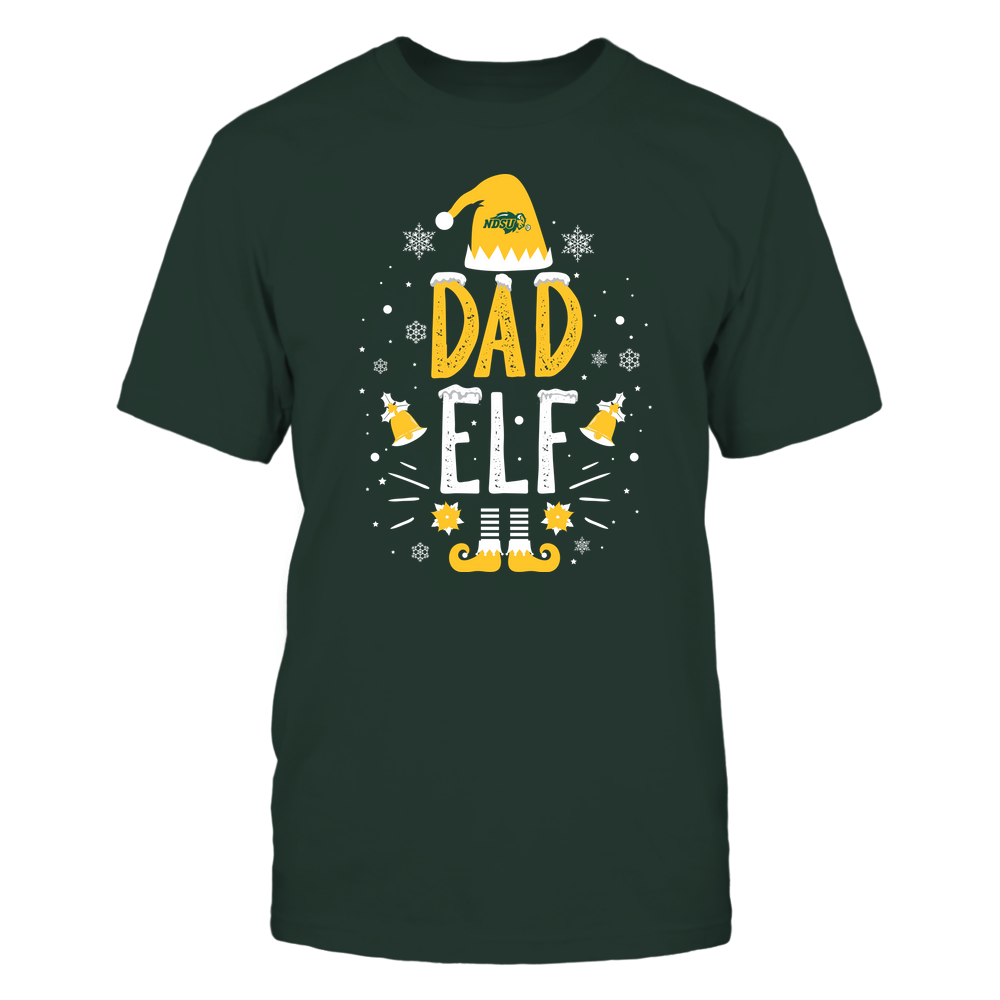 North Dakota State Bison - Christmas - Dad Elf - Team Front picture