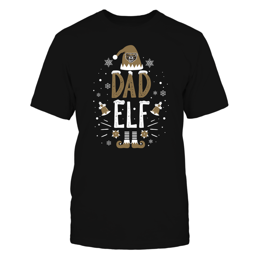 Oakland Golden Grizzlies - Christmas - Dad Elf - Team Front picture