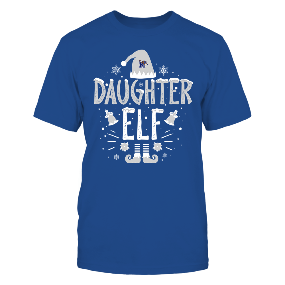 Memphis Tigers - Christmas - Daughter Elf - Team Front picture