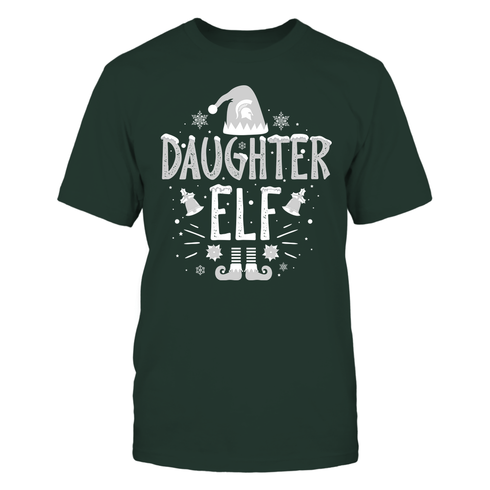 Michigan State Spartans - Christmas - Daughter Elf - Team Front picture