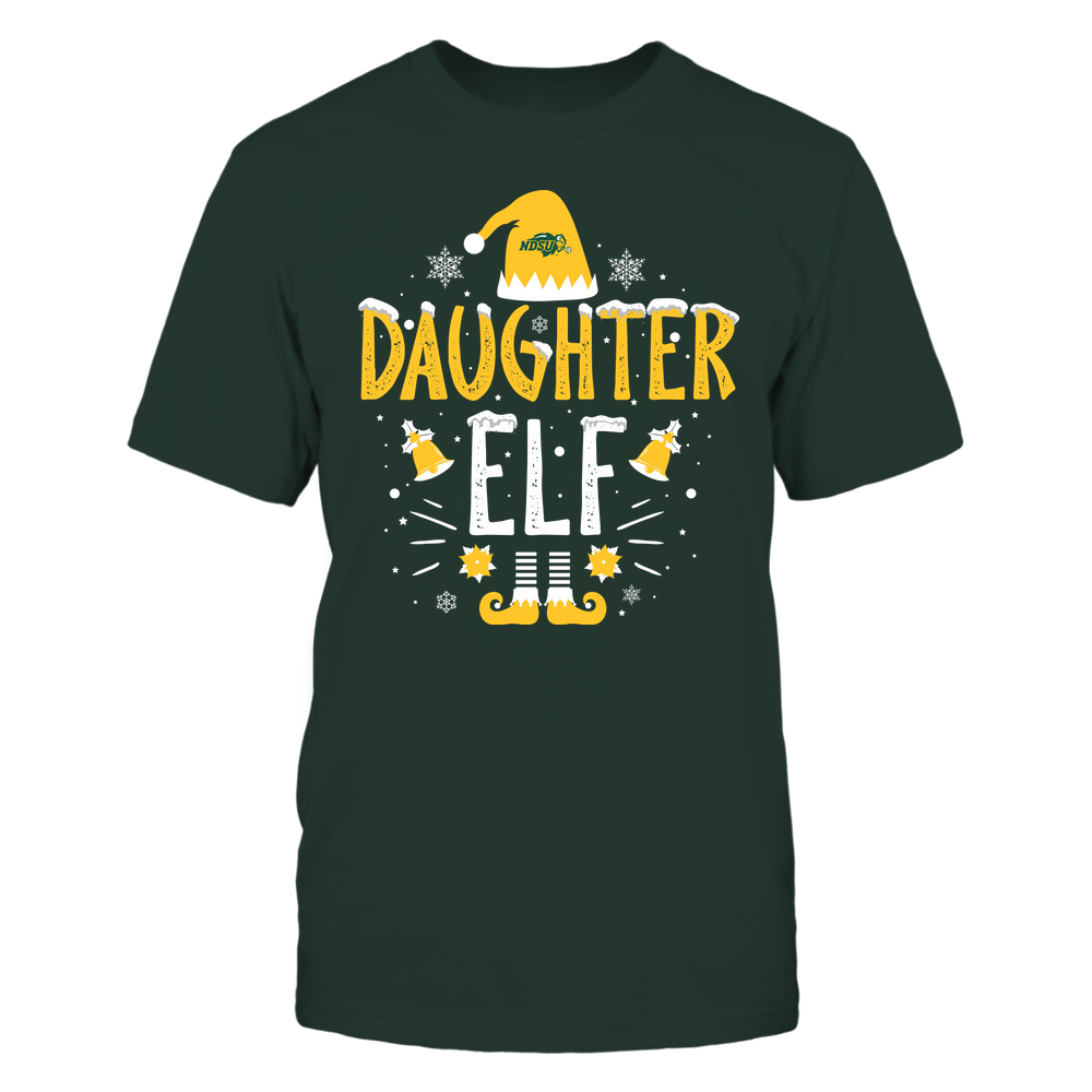 North Dakota State Bison - Christmas - Daughter Elf - Team Front picture