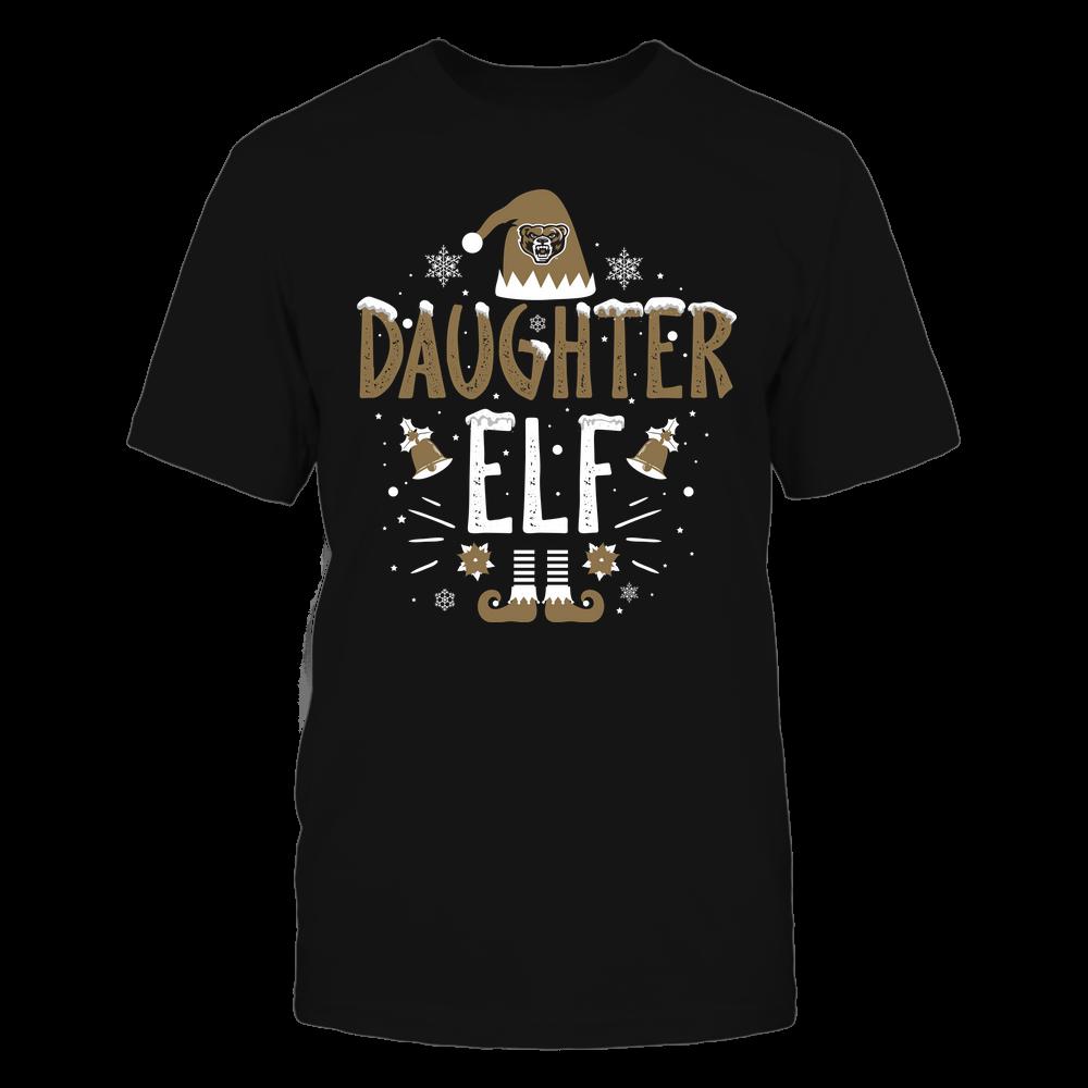 Oakland Golden Grizzlies - Christmas - Daughter Elf - Team Front picture