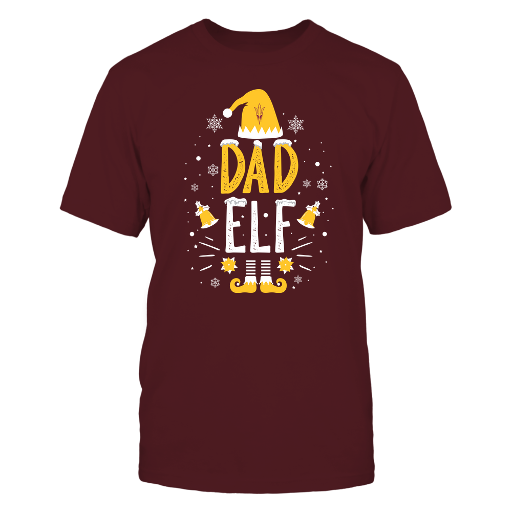 Arizona State Sun Devils - Christmas - Dad Elf - Team Front picture