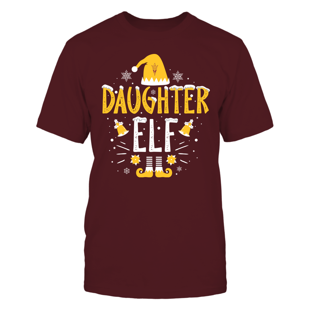 Arizona State Sun Devils - Christmas - Daughter Elf - Team Front picture