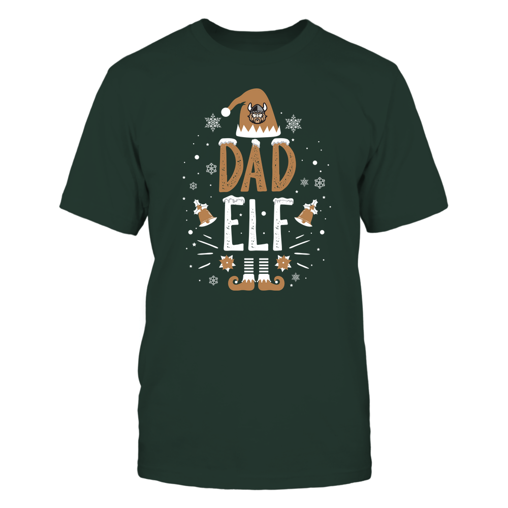 Cleveland State Vikings - Christmas - Dad Elf - Team Front picture