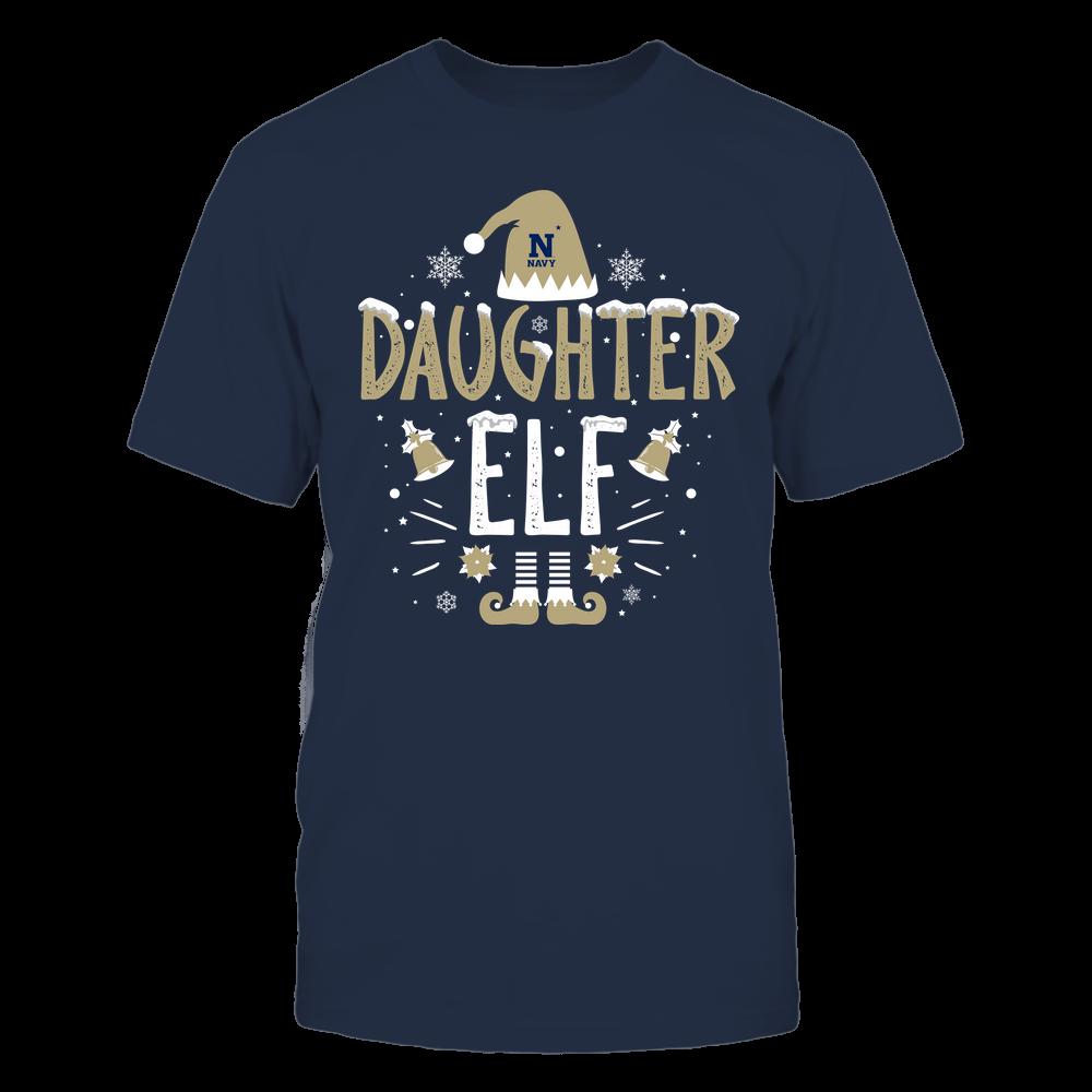 Navy Midshipmen - Christmas - Daughter Elf - Team Front picture