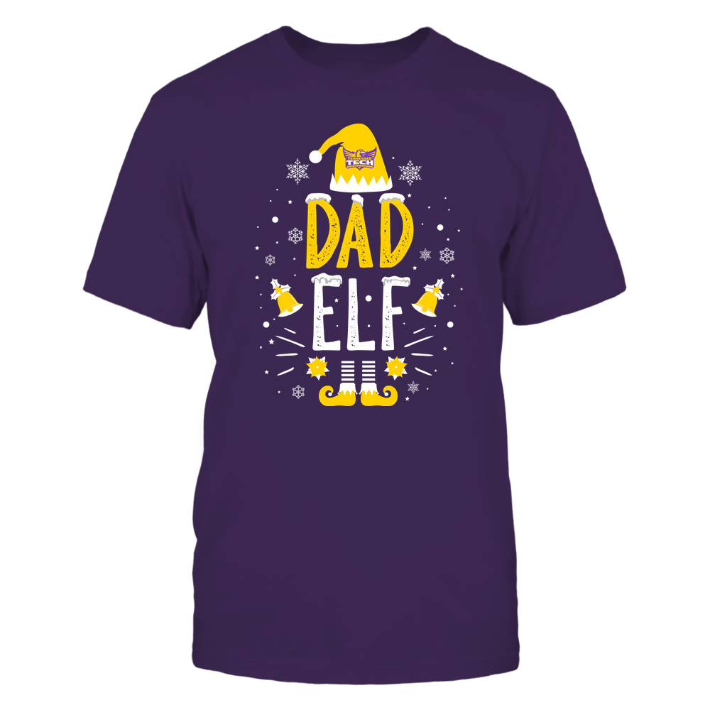 Tennessee Tech Golden Eagles - Christmas - Dad Elf - Team Front picture