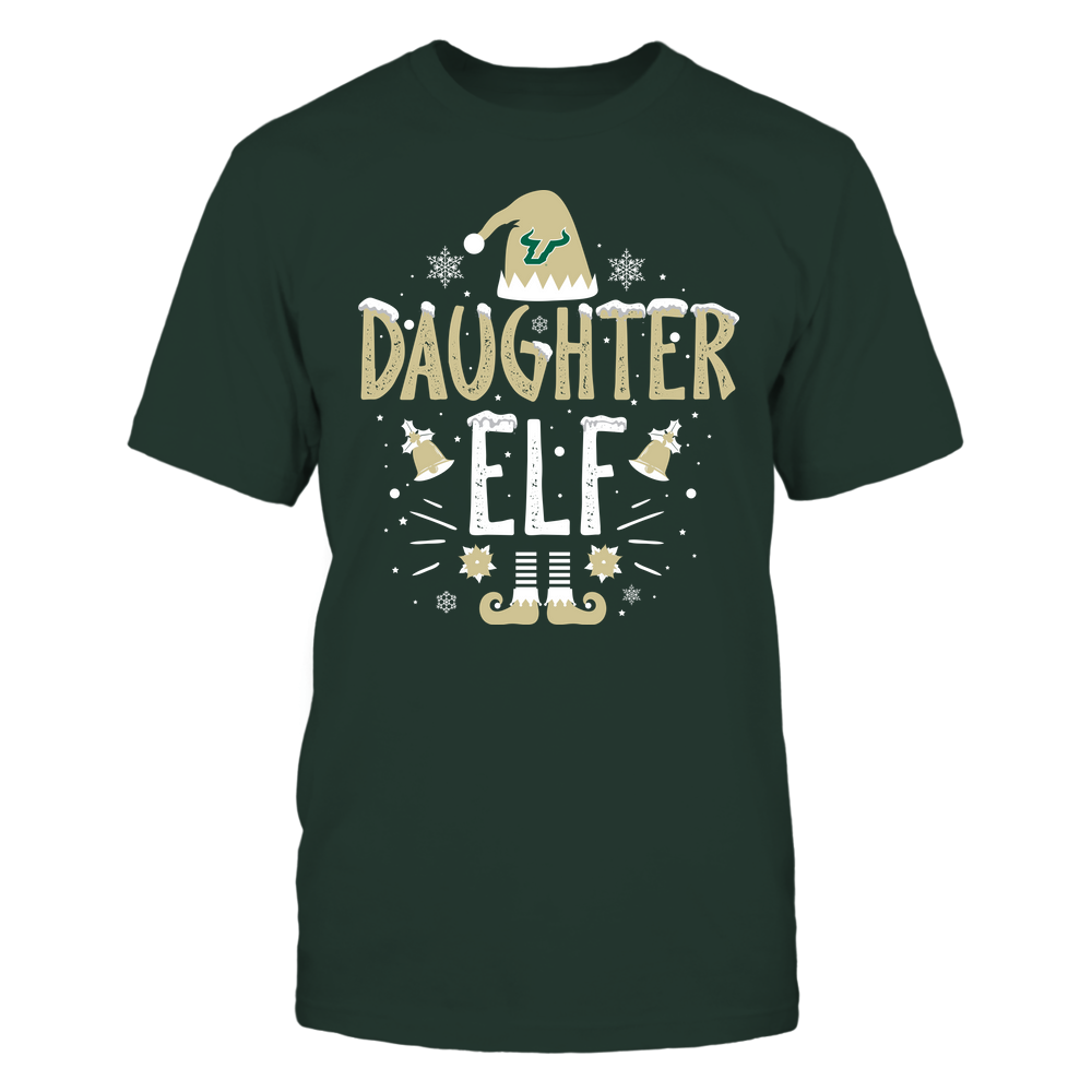 South Florida Bulls - Christmas - Daughter Elf - Team Front picture