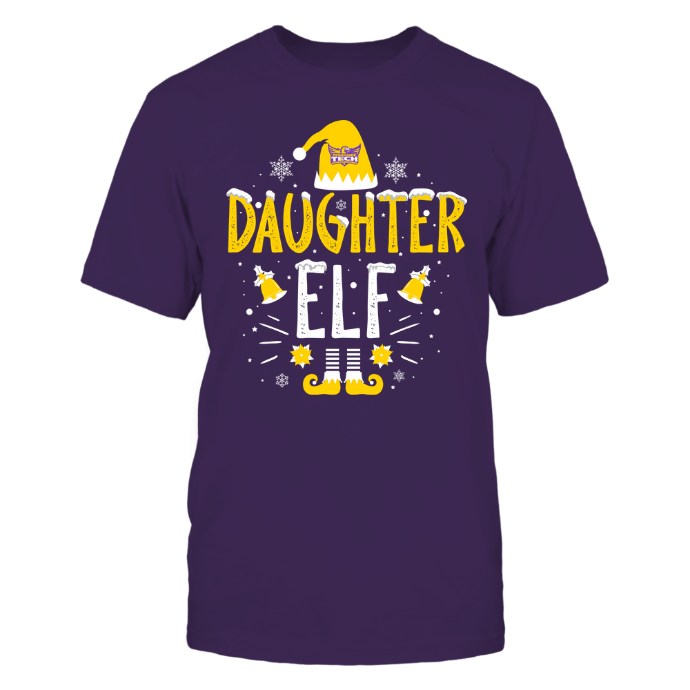 Tennessee Tech Golden Eagles - Christmas - Daughter Elf - Team Front picture