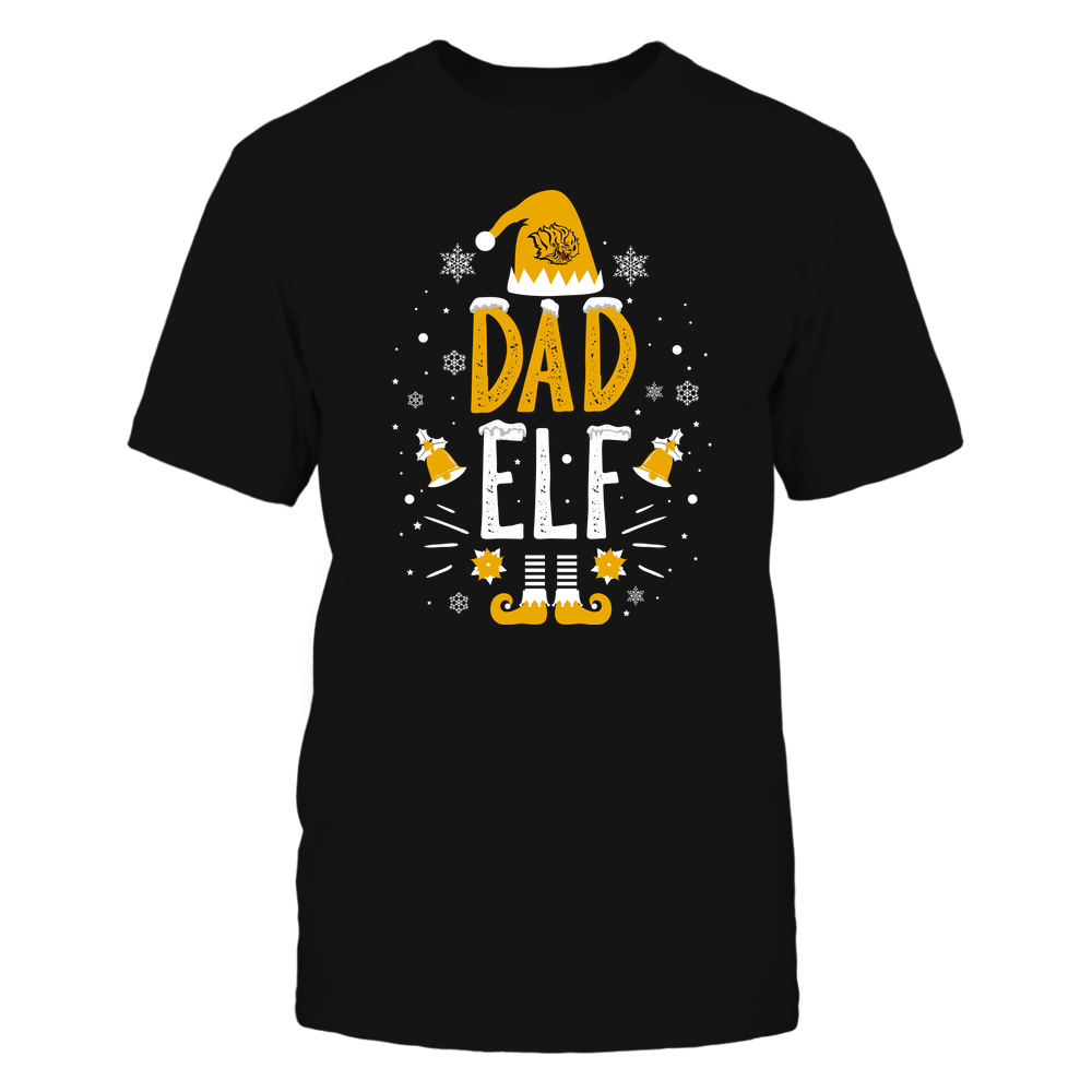Arkansas Pine Bluff Golden Lions - Christmas - Dad Elf - Team Front picture