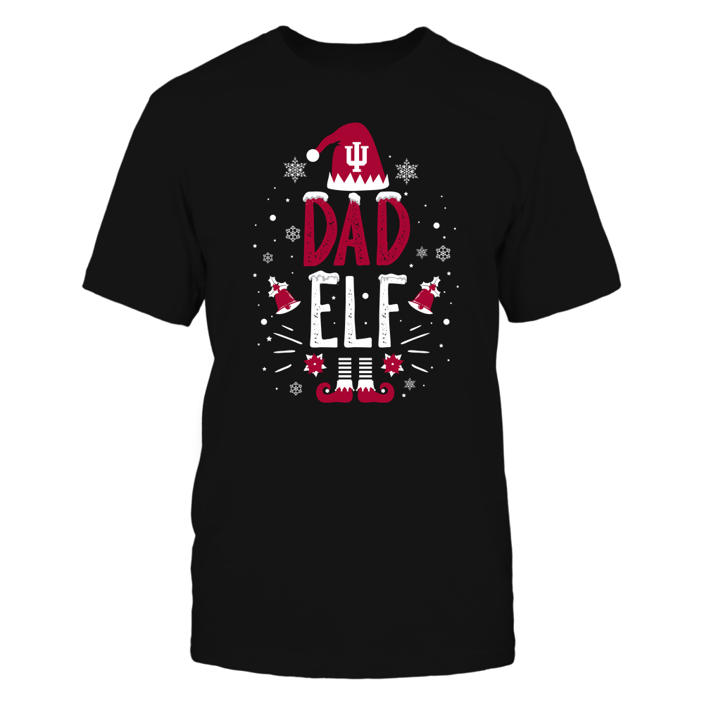 Indiana Hoosiers - Christmas - Dad Elf - Team Front picture
