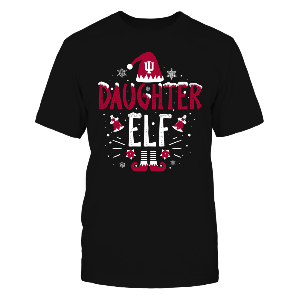 Indiana Hoosiers - Christmas - Daughter Elf - Team Front picture