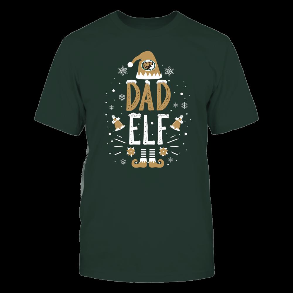 Bemidji State Beavers - Christmas - Dad Elf - Team Front picture