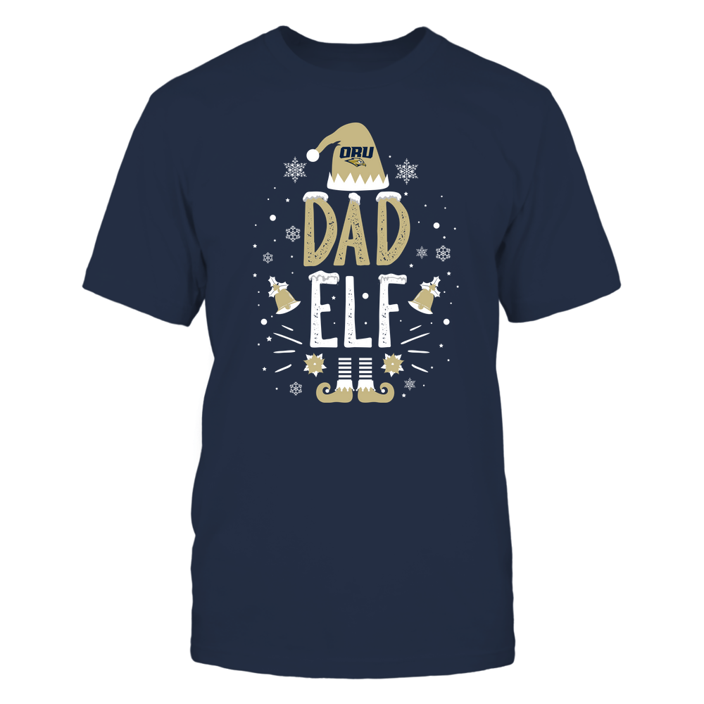 Oral Roberts Golden Eagles - Christmas - Dad Elf - Team Front picture