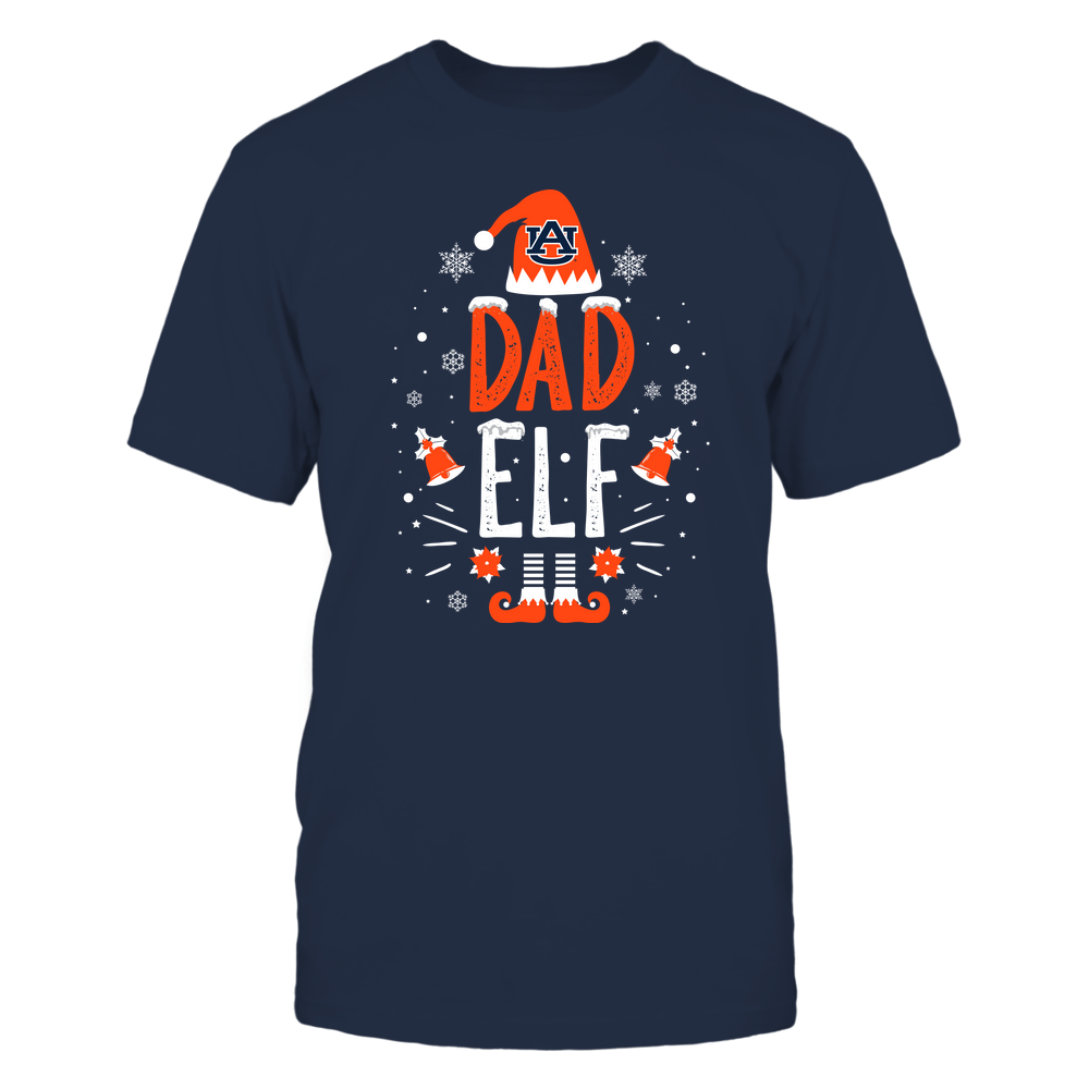 Auburn Tigers - Christmas - Dad Elf - Team Front picture
