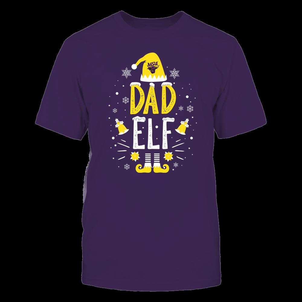 Minnesota State Mavericks - Christmas - Dad Elf - Team Front picture