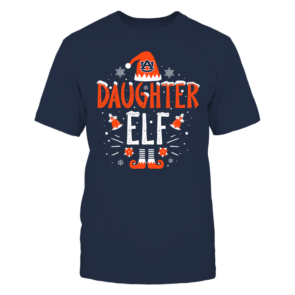 Auburn Tigers - Christmas - Daughter Elf - Team Front picture
