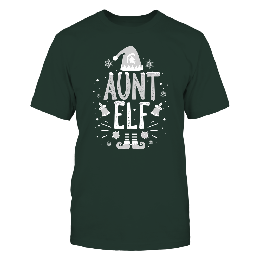 Michigan State Spartans - Christmas - Aunt Elf - Team Front picture